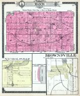 Mason Township, Nicholsville, Brownsville, Cass County 1914